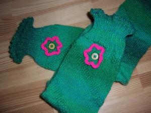 Detail grüne Socken