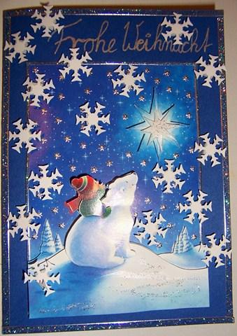 Weihnachtskarte 2012 für Laiza und Familie
